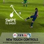 手勢操控免費《FIFA 14》手機版現身!
