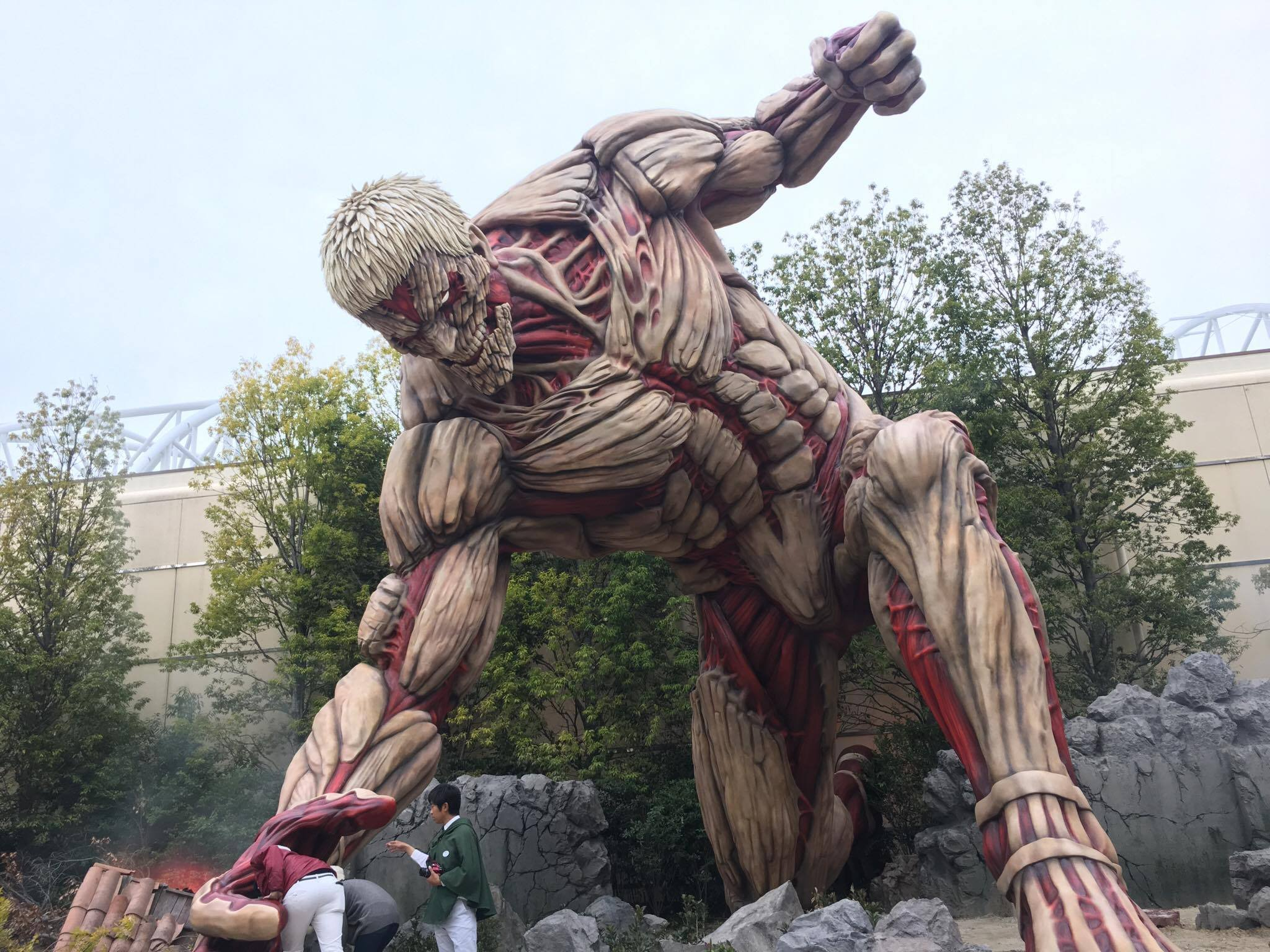 Japanese cosplay attack on the titan 2