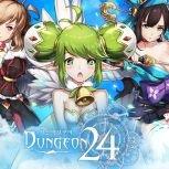 韓國放置系英雄育成手遊《Dungeon 24》事前登錄開放中!