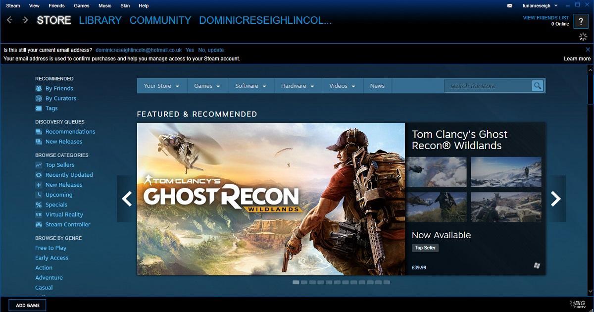 Steam 被爆出安全漏洞 官方被指圖隱瞞