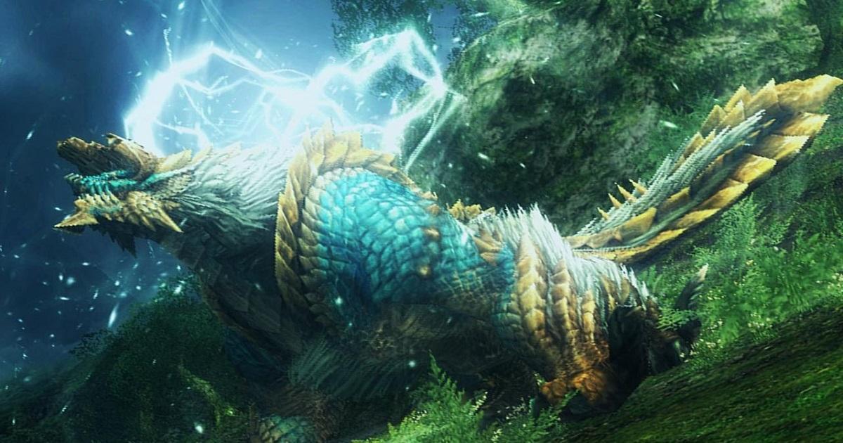 《魔物獵人 世界:ICEBORNE》雷狼龍或會登場 網友發現以下內容