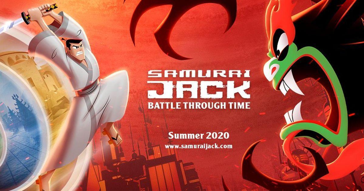 《傑克武士 Samurai Jack》將於夏天登推出