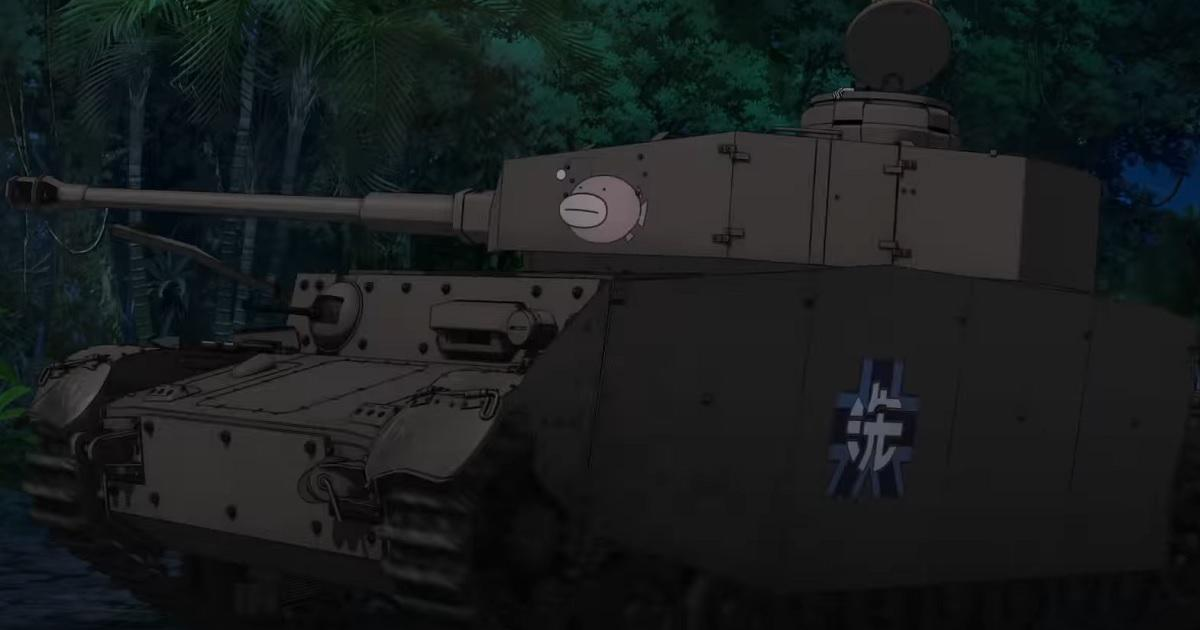 《少女与战车最终章》第三话上映决定特报映像率先公开-一起萌