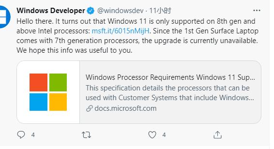windows 11 amd intel cpu