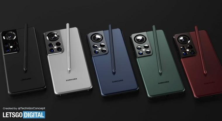 SAMSUNG GALAXY S22 Ultra Concept
