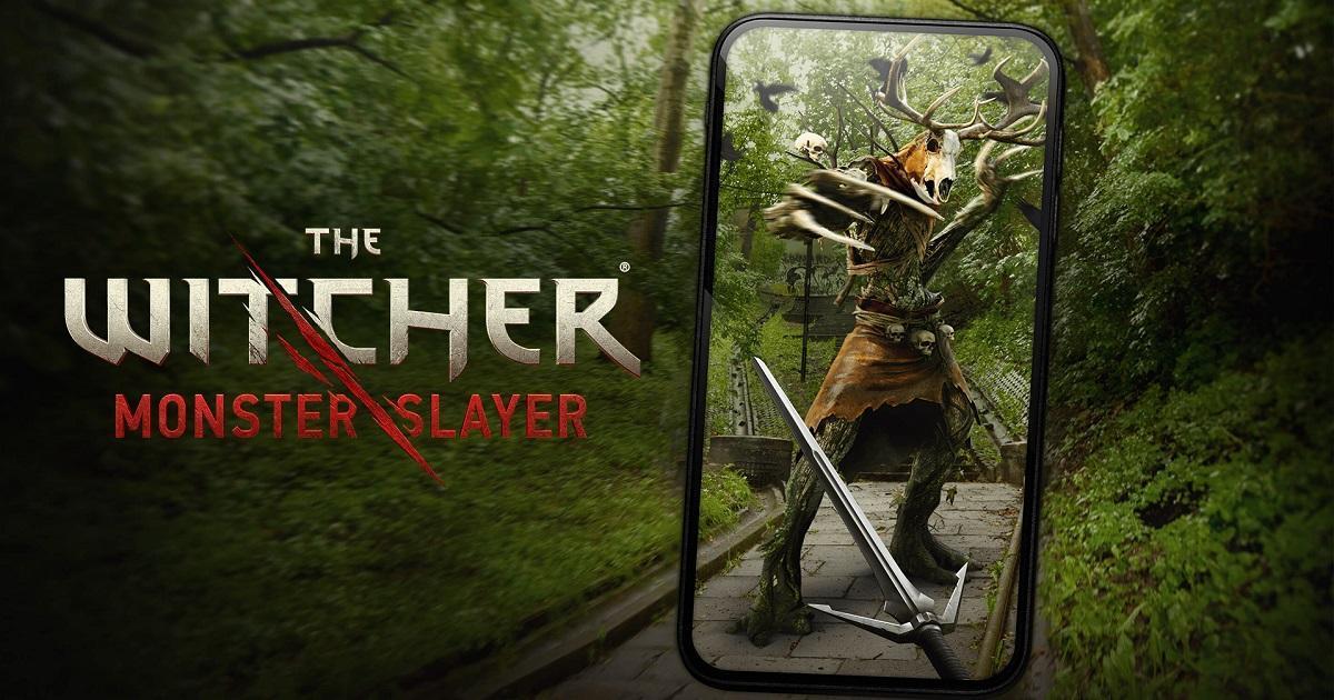 AR 新作手游《巫师魔物杀手》双平台推出 现实世界展开猎魔之旅