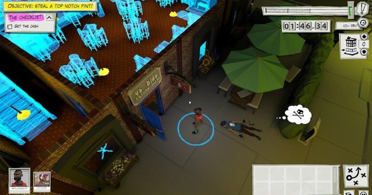 抢劫模拟器怎么下载?自由设计你的抢劫案《抢劫模拟器》即将登陆 Steam